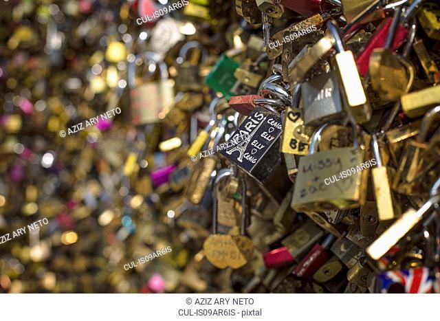 Love Locks, Pont des Arts, Paris, France
