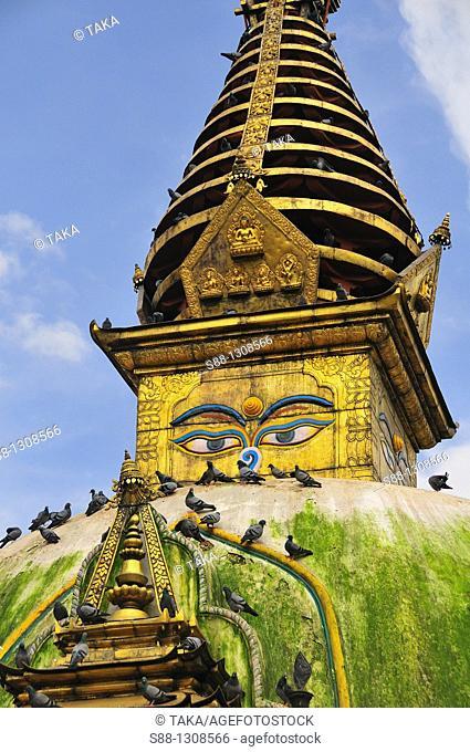 Kathesimbhu Temple, 3rd highest stupa in Nepal