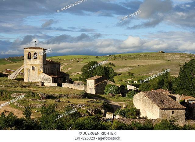 Castellanos de Castro, near Burgos, Camino Frances, Way of St. James, Camino de Santiago, pilgrims way, UNESCO World Heritage, European Cultural Route
