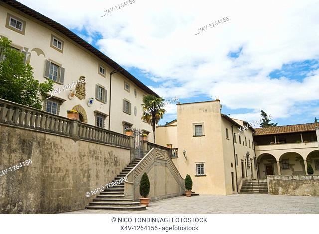 Piazzetta della Cattedrale, Cathedral Square, Fiesole, Firenze Province, Tuscany, Italy