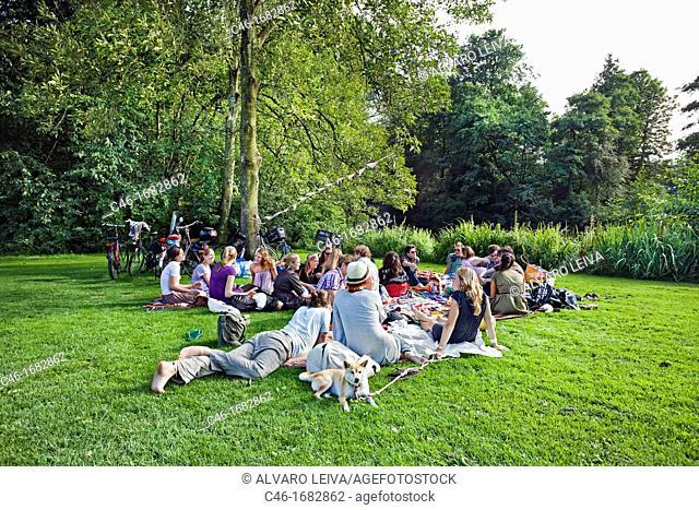 Vondelpark, Vondel park, Amsterdam, Netherlands