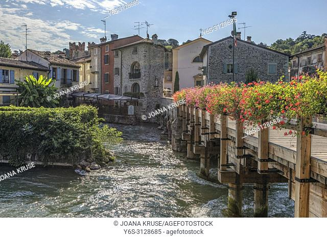 Valeggio sul Mincio, Borghetto, Veneto, Lake Garda, Italy, Europe