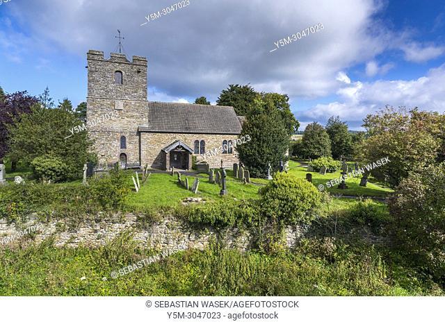 St John the Baptist church, Stokesay, Shropshire, England, United KIngdom, Europe