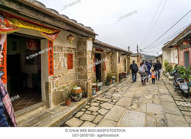 The Old Buildings built during The Ming Dynasty, Kinmen, Taiwan
