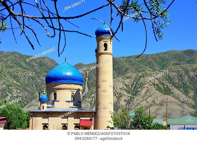 Mosque of Saty, Kungey Alatau, Kazakhstan