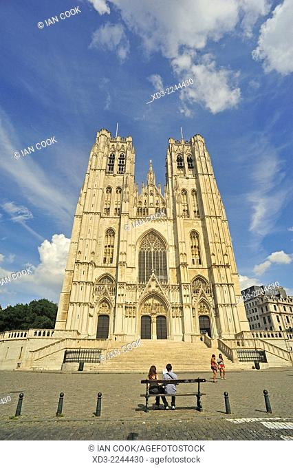 St. Michael and St. Gudula Cathedral Brussels, Belgium