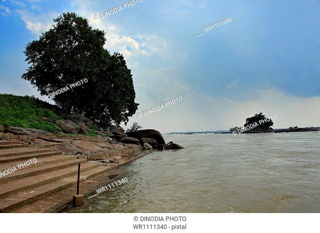 Mahanadi River near Huma Sambalpur at Orissa India