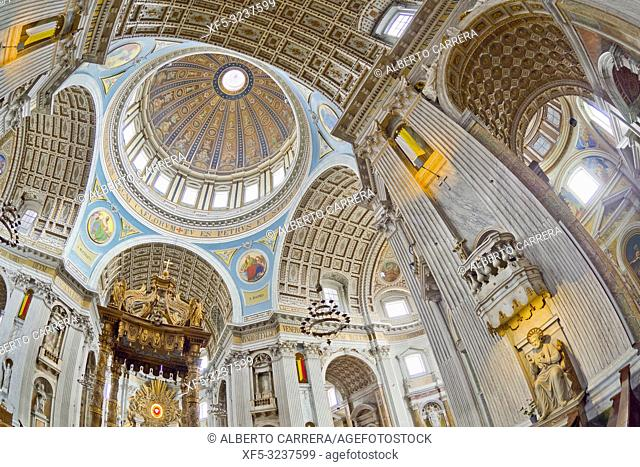 Oudenbosch Basilica, Basilica of the H. H. Agatha and Barbara, Scaled Copy of St. Peter in Rome, Oudenbosch, Holland, Netherlands, Europe