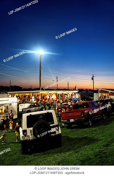 Concession stands at Cowtown Rodeo