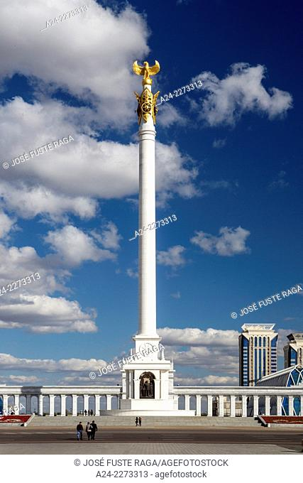 Kazakhstan, Astana City, New Administrative City, Kazak Yeli (Kazakh Country) Monument