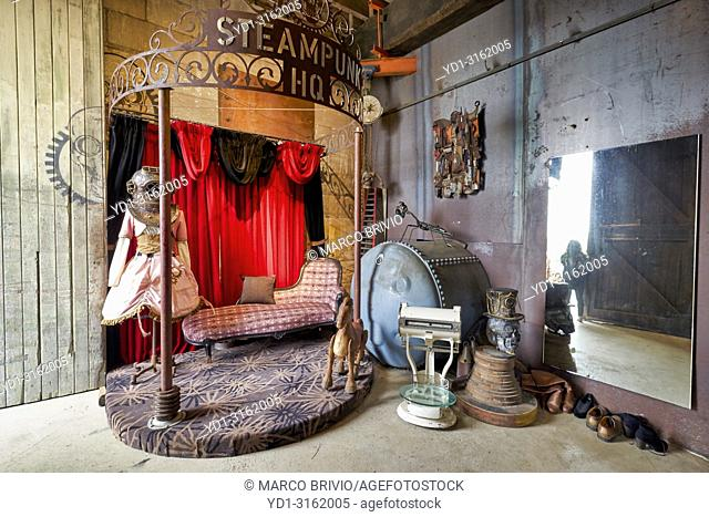Steampunk HQ Art Gallery Museum. Oamaru Otago New Zealand