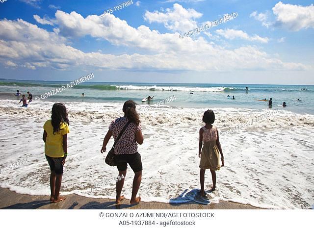 Kuta. Beach. Bali. Indonesia