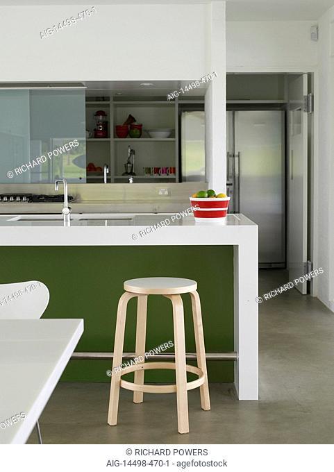 Peachy Breakfast Bar Kitchen Australian Stock Photos And Images Machost Co Dining Chair Design Ideas Machostcouk
