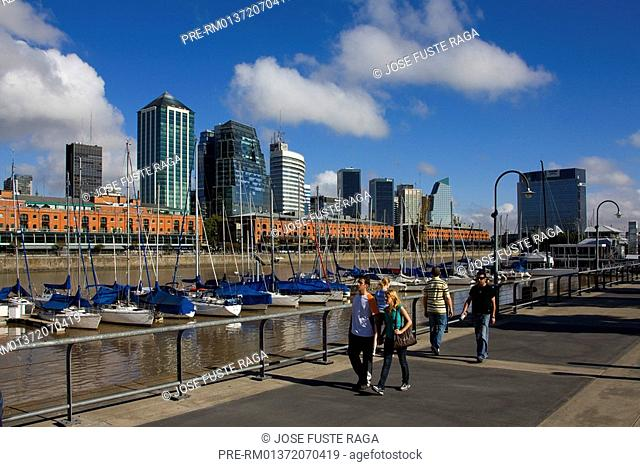 Office buildings in the Puerto Madero District, Buenos Aires, Argentina, South America