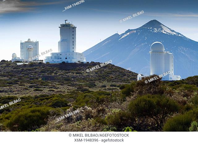 Teide Observatory. Tenerife, Canary Islands, Spain