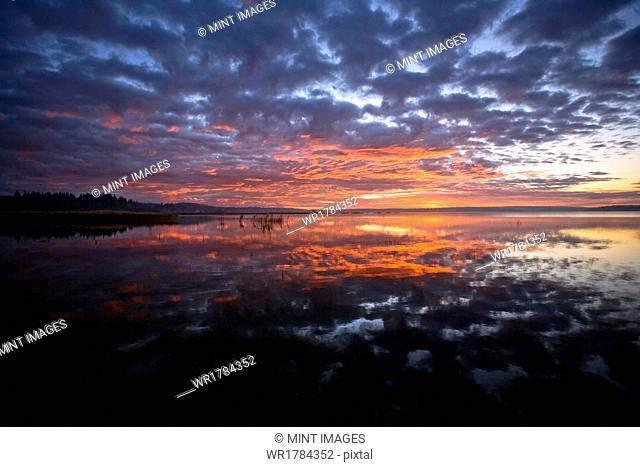 Sunset, Saskatchewan, Canada