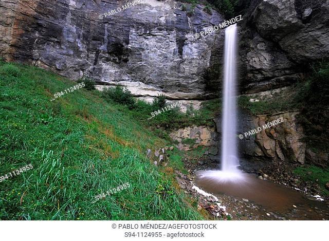 Waterfall near of Luzern, Switzerland