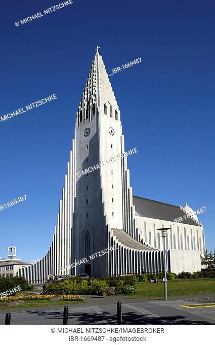 Hallgrímskirkja church, Reykjavik, Iceland, Europe