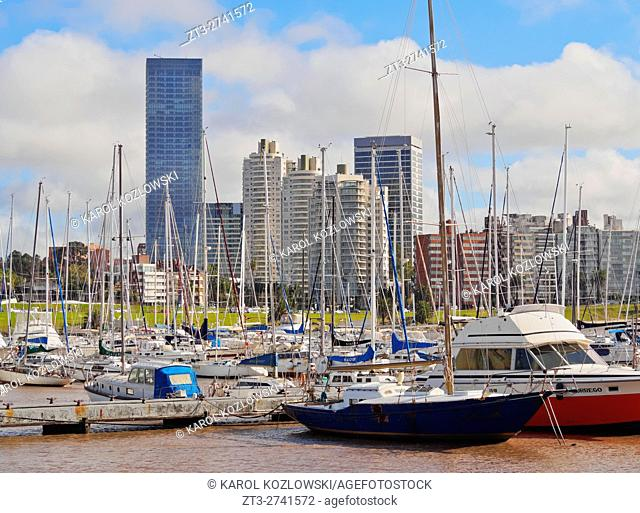 Uruguay, Montevideo, Little Port in Buceo Neighbourhood