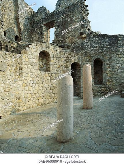 Italy - Emilia Romagna Region - Ciano d'Enza - Ruins of Castle of Matilde di Canossa