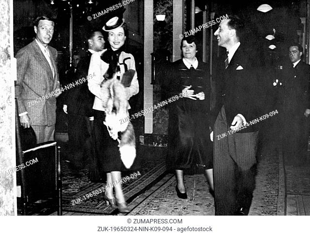 June 29, 1939 - Aix-Les-Bains, France - EDWARD VIII had met and fallen in love with a married American woman Mrs WALLIS SIMPSON