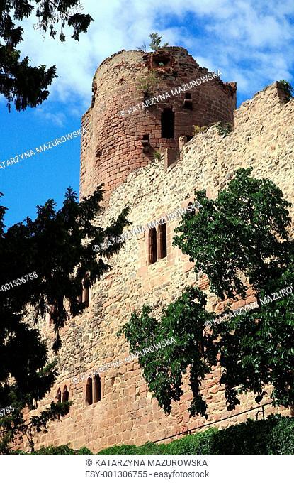 Castle in Kintzheim – Alsace, France