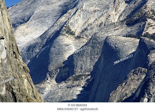 Yosemite national park, the USA