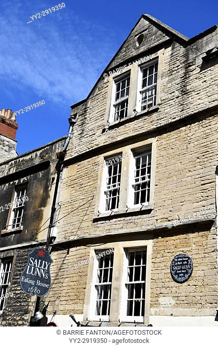 Sally Lunn's Eating House, Bath, England