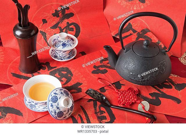 Still Life of Tea