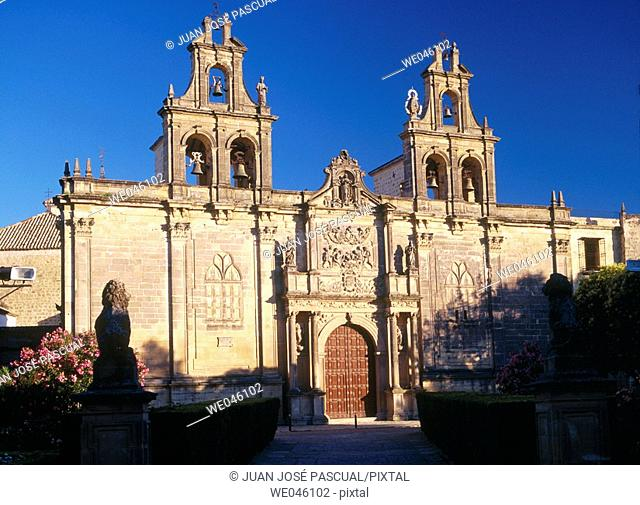 Collegiate church of Santa María de los Reales Alcázares (13th-19th century), Úbeda. Jaén province, Andalusia, Spain