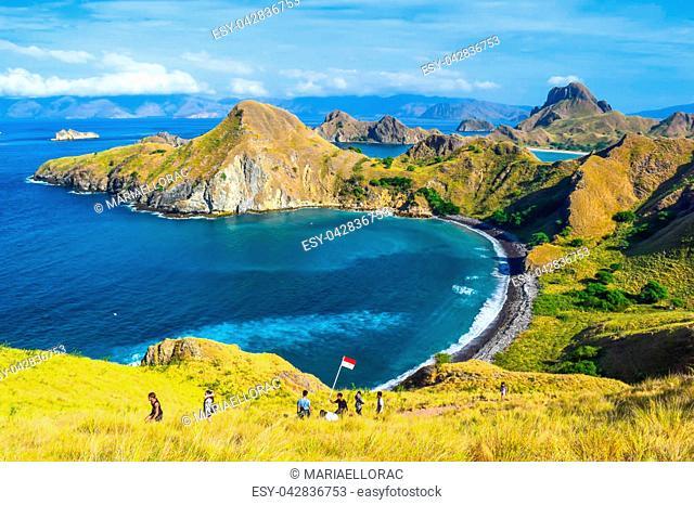 Beautiful views in Padar Island