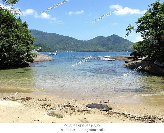 Beach, Landscape, Ilha Grande, Rio de Janeiro, Brazil