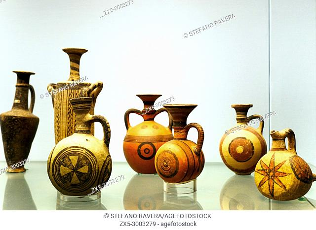 Pottery from Cyprus. from around 1000 BC