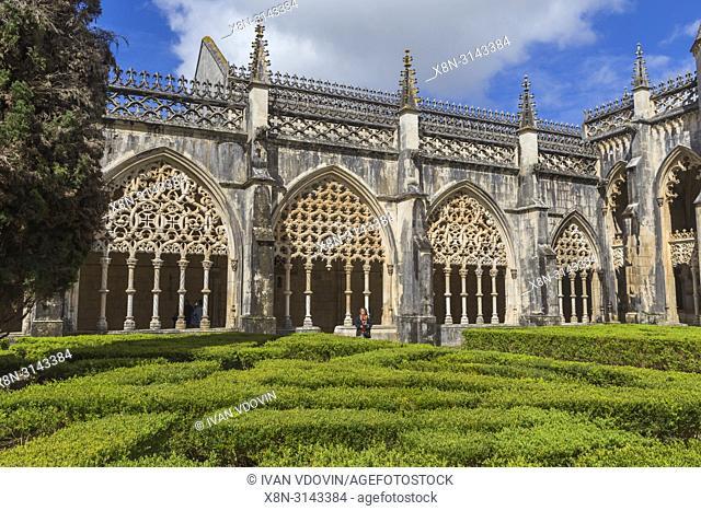 Monastery of Batalha, monastery Santa Maria da Vitoria, Batalha, Portugal