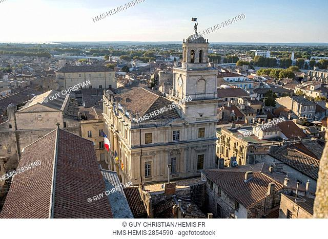 France, Bouches du Rhone, Arles, Town Hall