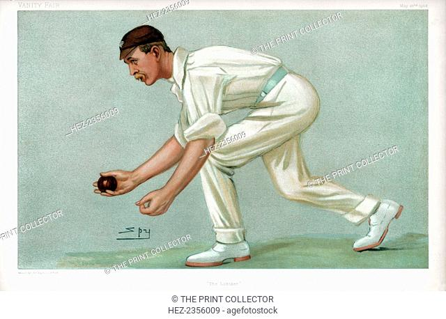 'The Lobster', 1902. Digby Jephson, Cambridge University and Surrey cricketer. Jephson (1871-1926) is best known for being one of the last to practice the style...