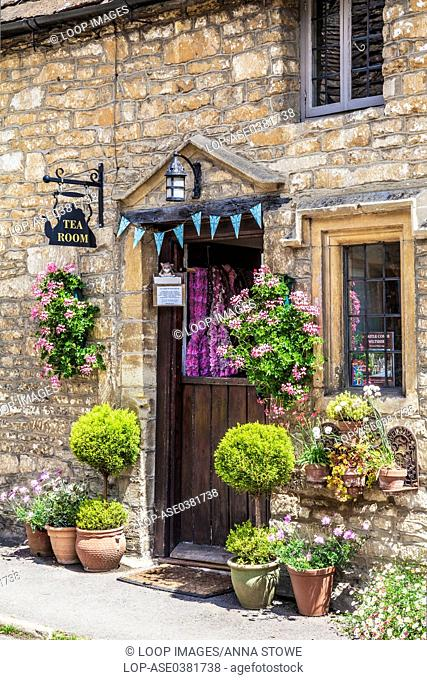 The Old Rectory Tearoom in the Cotswold village of Castle Combe in Wiltshire