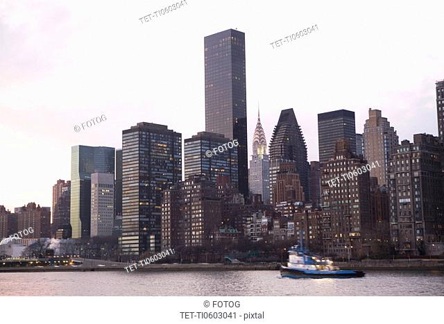USA, New York State, New York City, cityscape