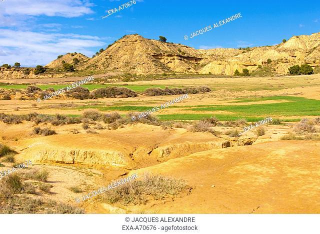 Bardenas desert, Spain