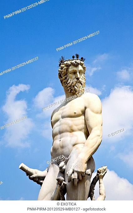 Fountain of Neptune at Piazza Della Signoria, Florence, Tuscany, Italy