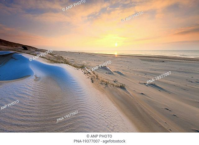 Northsea beach, Groote Keeten, North Holland, The Netherlands, Holland, Europe