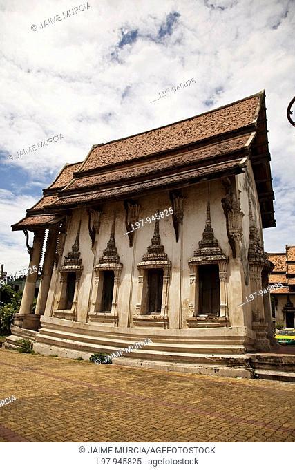 Old temple Bangkok, Thailand