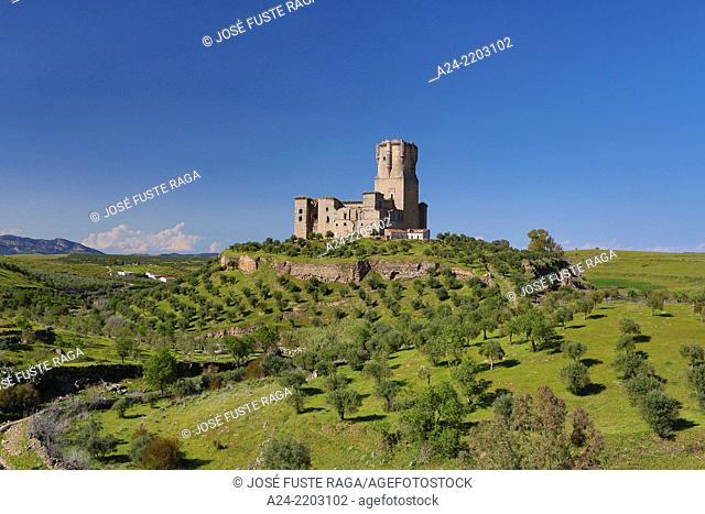 Spain , Andalucia Region,Cordoba Province, Belalcazar Castle, Belalcazar City