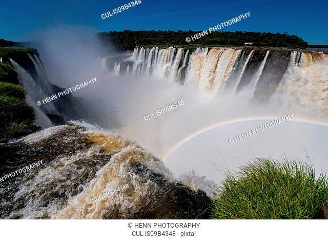 Devils throat, Iguazu falls, Misiones, Argentina