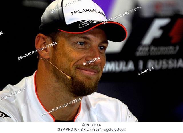 28.04.2016 - Press conference, Jenson Button (GBR) McLaren Honda MP4-31