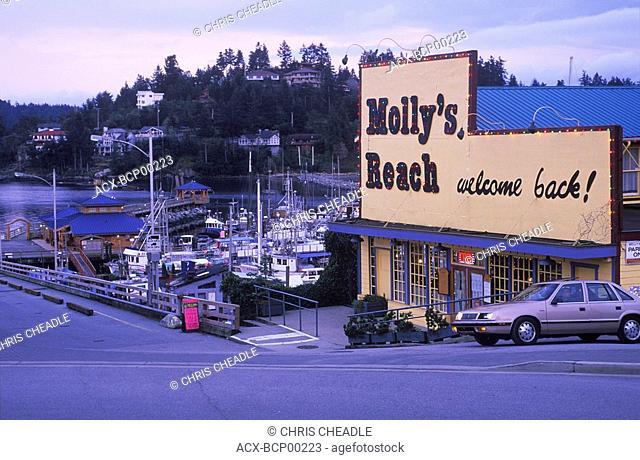 Molly's reach Beachcomber's fame, Sechelt Peninsula, Gibsons, , Sunshine Coast, British Columbia, Canada