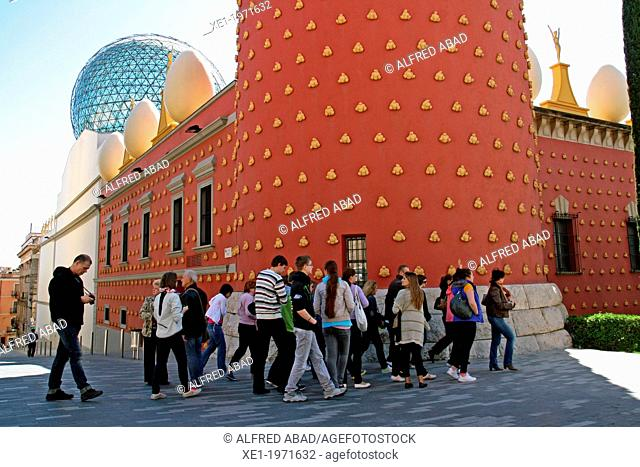 Teatre-Museu Dali, Figueres, Catalonia, Spain
