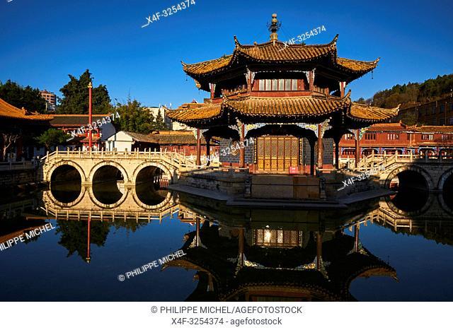 China, Yunnan, Kunming, Yuantong temple