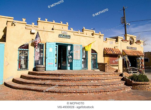 Famous Landmark of Old Town Chili Patch Store in Albuquerque New Mexico USA - 01/01/2014