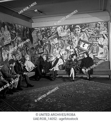 Wilhelmsburger Freitag, Sozialdrama, Deutschland 1964, Regie: Egon Monk, Darsteller: Ingeborg Hartmann (2. v. rechts)